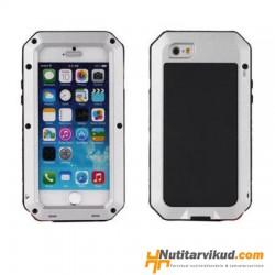 Stiilne hall metallist ümbris iPhone 4, 4S