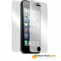 Ekraani kaitsekiled eesmine ja tagumine iPhone 5, 5S