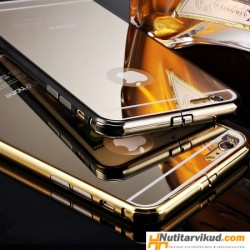 Läikiv peegel silikoonümbris iPhone 6