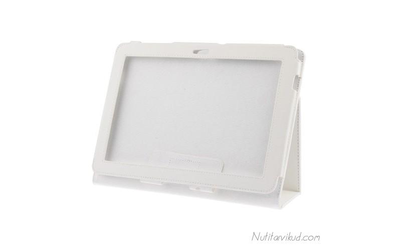"Valged nahkkaaned Samsung Galaxy Tab 2 (P7510) 10.1"""