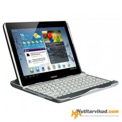 "Alumiiniumklaviatuur-kaitsekaas Samsung Galaxy Tab 2 (P5100) 10.1"""