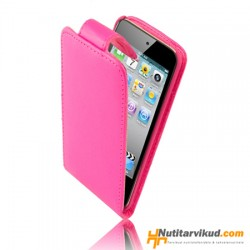 Roosad nahkkaaned + kaitsekile iPod Touch 4G