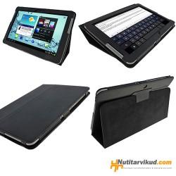 "Mustad nahkkaaned Samsung Galaxy Tab 2 (P5100, P5110) 10.1"""
