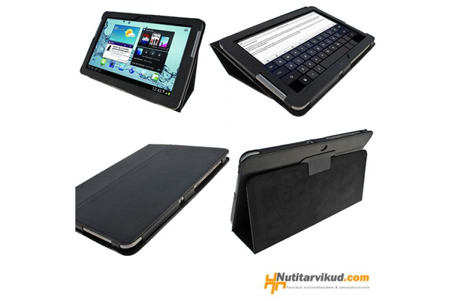 f366e5415e4 Mustad nahkkaaned Samsung Galaxy Tab 2 (P5100, P5110) 10.1