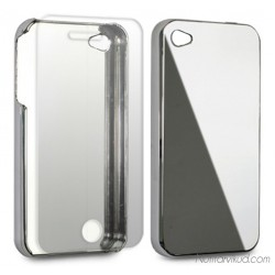 Peegelkattega kaitse+ ekraani kaitsekile iPhone 4, 4S