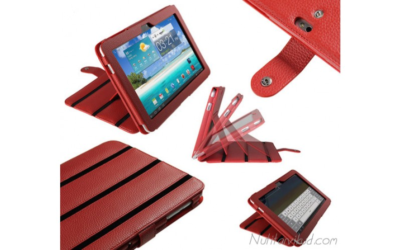 """Punased kaaned Samsung Galaxy Tab 2 (P7510) 10.1"""" + kaitsekile"""