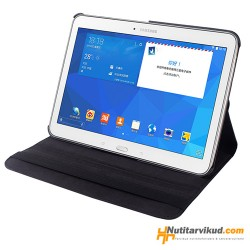 "Mustad 360° nahkkaaned Samsung Galaxy Tab 4 (T530/T531/T535) 10.1"""