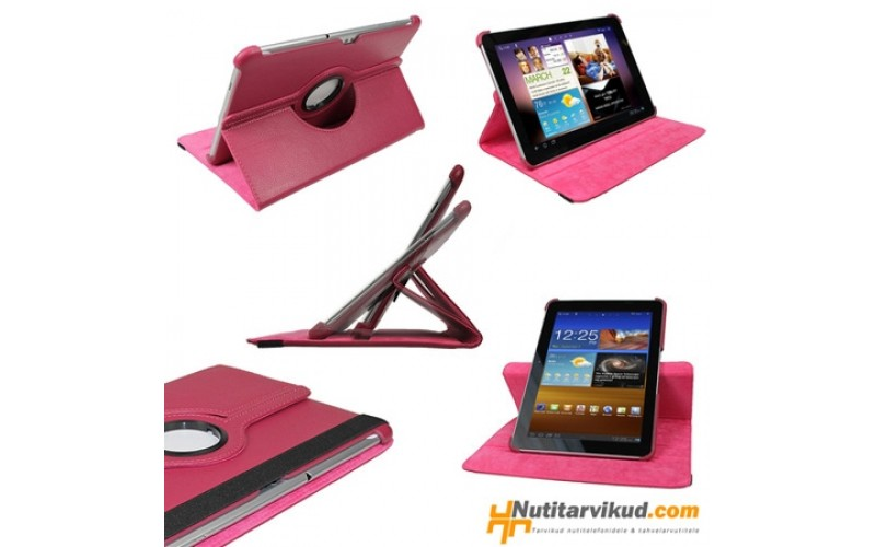 """Roosad 360° nahkkaaned Samsung Galaxy Tab 2 (P5100, P5110) 10.1"""""""