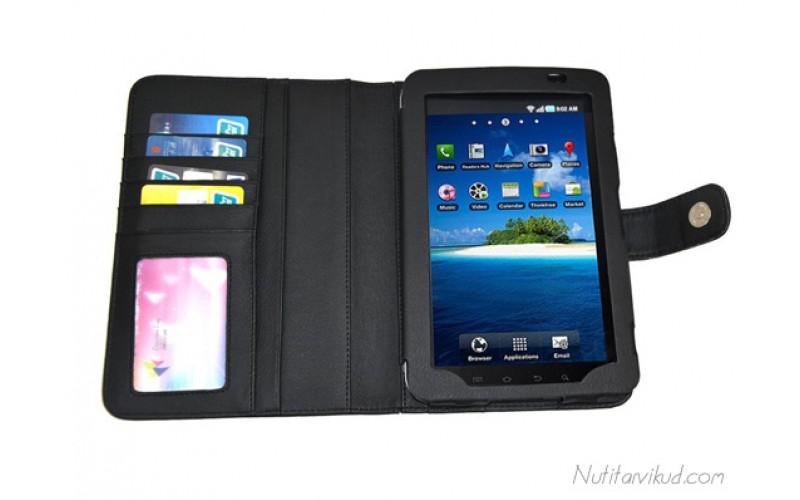 "Mustad nahkkaaned Samsung Galaxy Tab P1000 7,0"""
