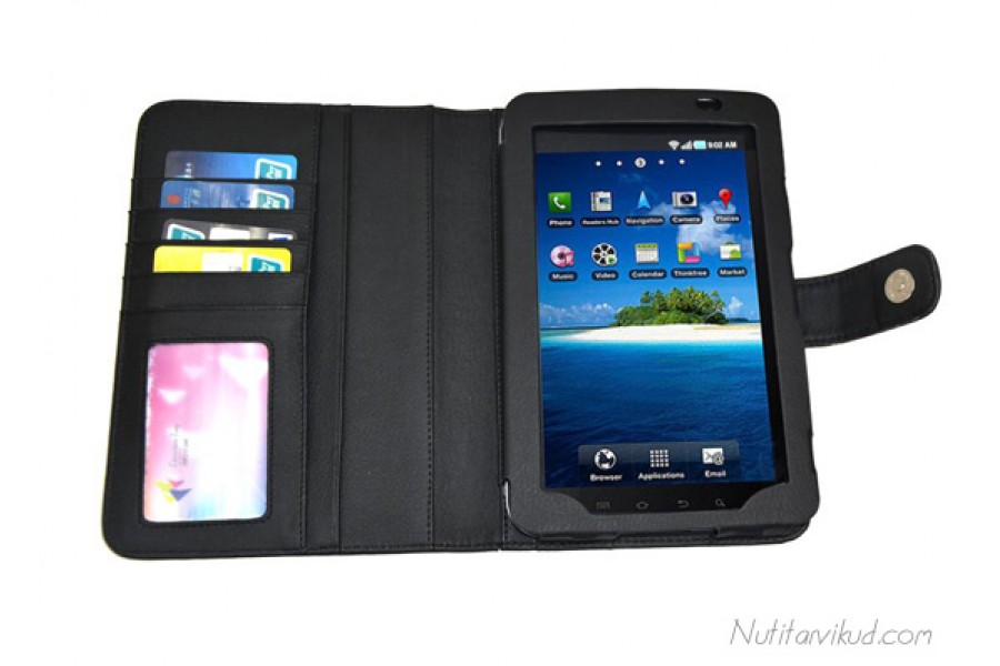 Mustad Nahkkaaned Samsung Galaxy Tab P1000 70