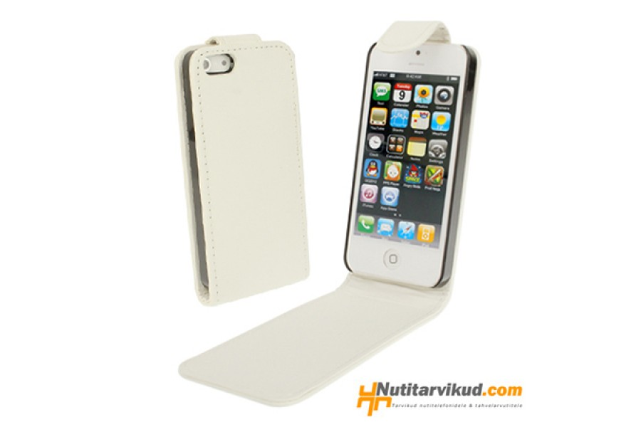 05580e63e4b Valged nahkkaaned + ekraani kaitsekile iPhone 5