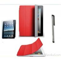 Kolm ühes komplekt iPad 2 punane