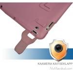 Roosad nahkkaaned + ekraani kaitsekile iPad 2
